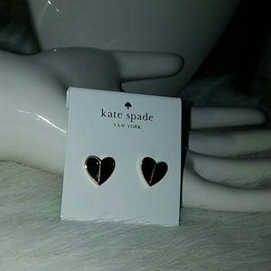 Kate spade Jewelry - Kate spade spades heart Earrings